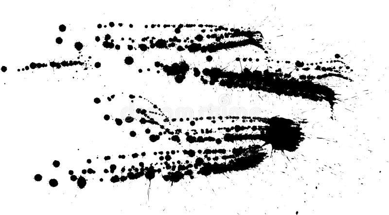 παφλασμός απελευθερώσεων διανυσματική απεικόνιση