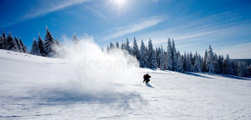 παφλασμός χιονιού στοκ εικόνα με δικαίωμα ελεύθερης χρήσης