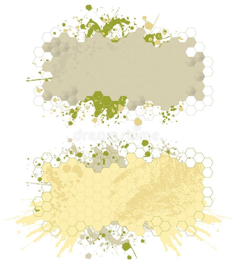παφλασμός χρωμάτων εμβλημά&t ελεύθερη απεικόνιση δικαιώματος