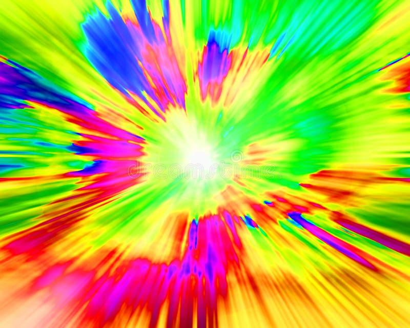 παφλασμός χρώματος παράξε&nu απεικόνιση αποθεμάτων