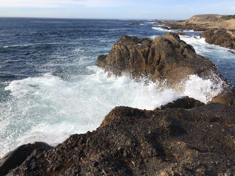 Παφλασμός Monterey στοκ φωτογραφία