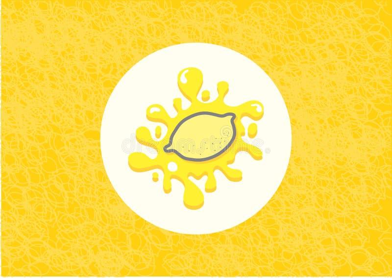 Παφλασμός λεμονιών στοκ φωτογραφία με δικαίωμα ελεύθερης χρήσης