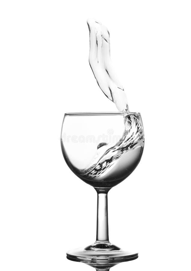 Παφλασμός νερού στοκ εικόνα