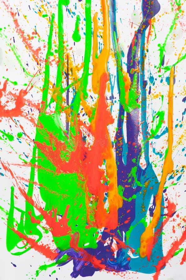 παφλασμός χρωμάτων στοκ εικόνα με δικαίωμα ελεύθερης χρήσης