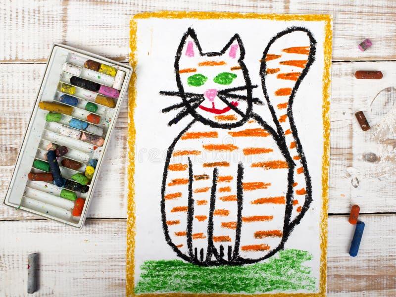 παχιά γάτα πιπεροριζών ελεύθερη απεικόνιση δικαιώματος