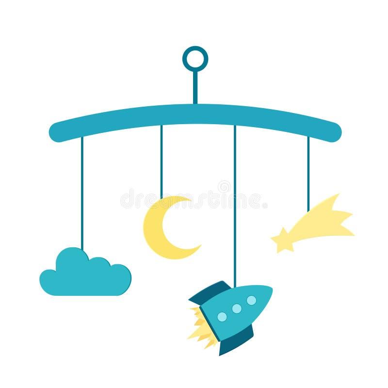 Παχνί μωρών κινητό ελεύθερη απεικόνιση δικαιώματος