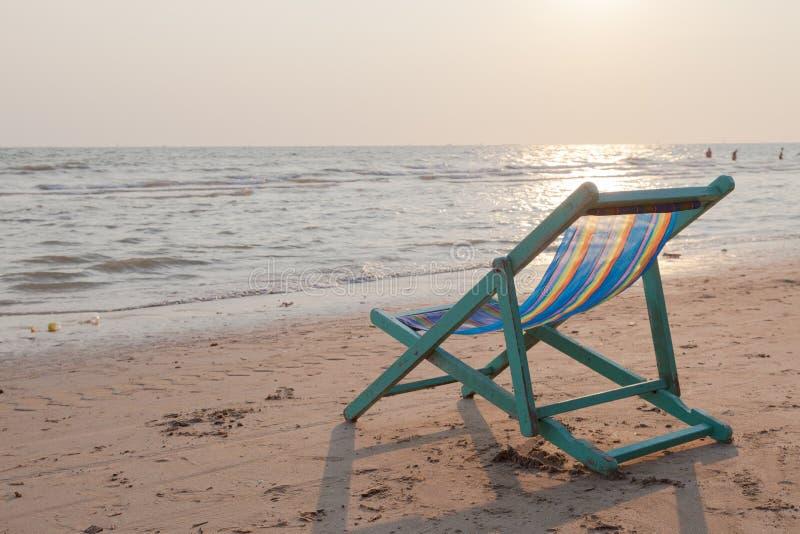 Παχνί στην παραλία στοκ φωτογραφίες