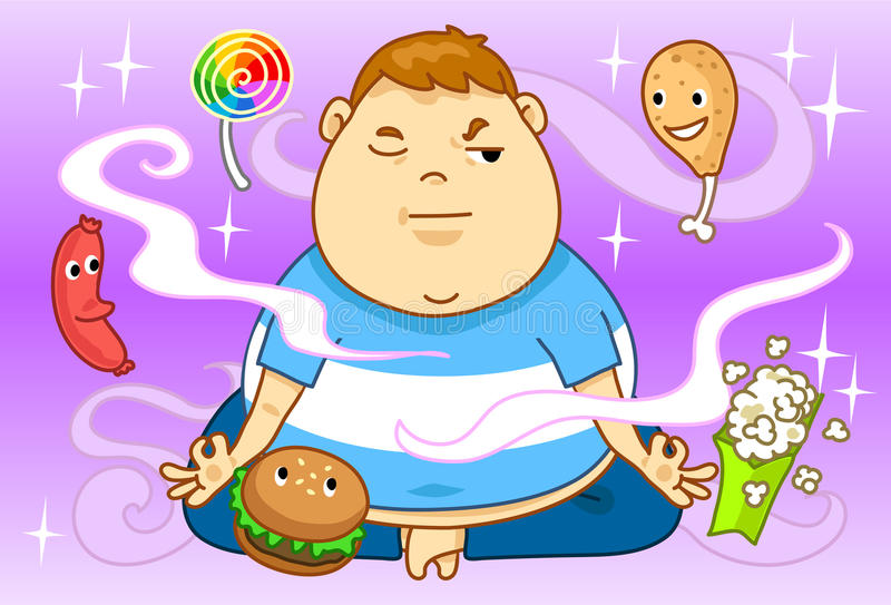 παχυσαρκία σιτηρεσίου ελεύθερη απεικόνιση δικαιώματος