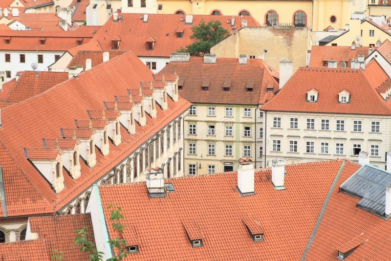 Παλάτια στη μικρή πόλη στοκ φωτογραφία