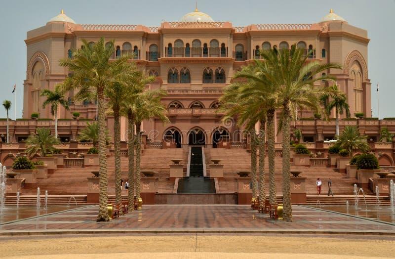 Παλάτι εμιράτων, Αμπού Ντάμπι, Ε.Α.Ε. στοκ εικόνες με δικαίωμα ελεύθερης χρήσης
