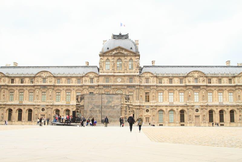 Παλάτι Λούβρο στοκ φωτογραφίες