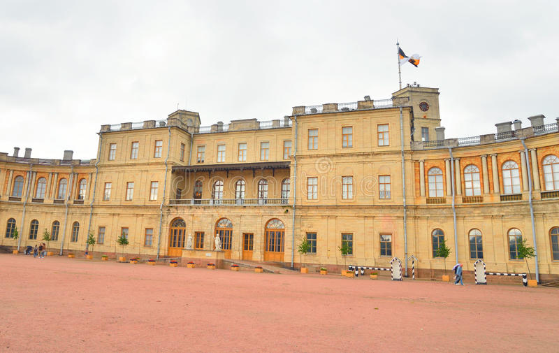 παλάτι Πετρούπολη Ρωσία ST gatchina στοκ εικόνες με δικαίωμα ελεύθερης χρήσης