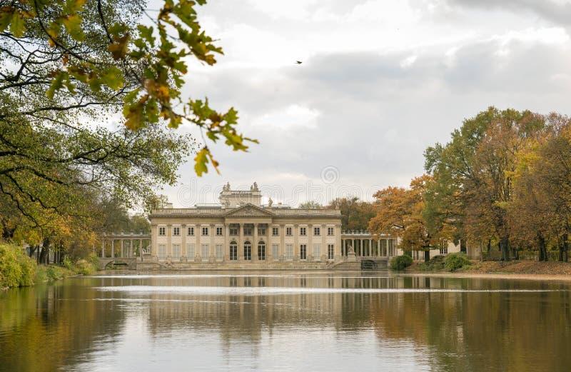 Παλάτι στο ύδωρ στοκ φωτογραφία