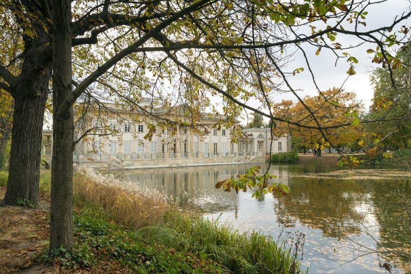 Παλάτι στο ύδωρ στοκ εικόνες