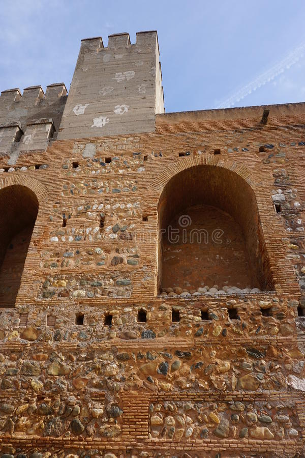 Παλάτι της Γρανάδας στοκ εικόνες