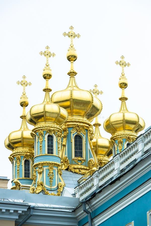 Παλάτι της Catherine θόλων, Αγία Πετρούπολη στοκ εικόνες