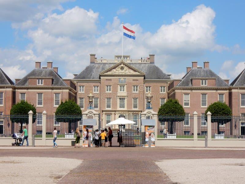 Παλάτι τουαλετών Het - τουαλέτα Paleis Het - βασιλικό παλάτι Άπελντορν - Κάτω Χώρες στοκ φωτογραφία με δικαίωμα ελεύθερης χρήσης