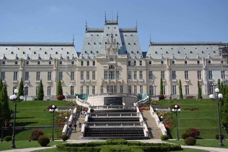 Παλάτι του πολιτισμού σε Iasi (Ρουμανία) στοκ φωτογραφία