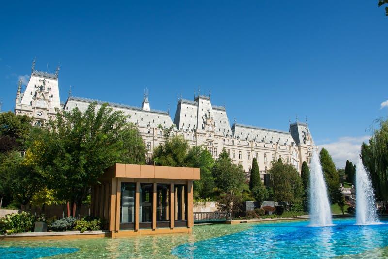 Παλάτι του πολιτισμού σε Iasi & x28 Romania& x29  στοκ φωτογραφίες με δικαίωμα ελεύθερης χρήσης
