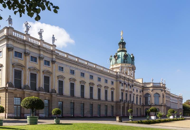 Παλάτι του Σαρλότεμπουργκ, Βερολίνο στοκ φωτογραφία