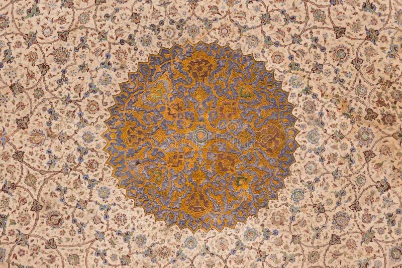 Παλάτι του Ali Qapu, ένα μεγάλο παλάτι στο Ισφαχάν, Ιράν στοκ εικόνες
