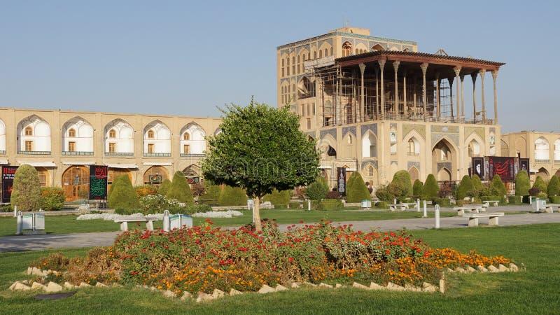 Παλάτι του Ali Qapu, Ισφαχάν, Ιράν, Ασία στοκ εικόνες με δικαίωμα ελεύθερης χρήσης