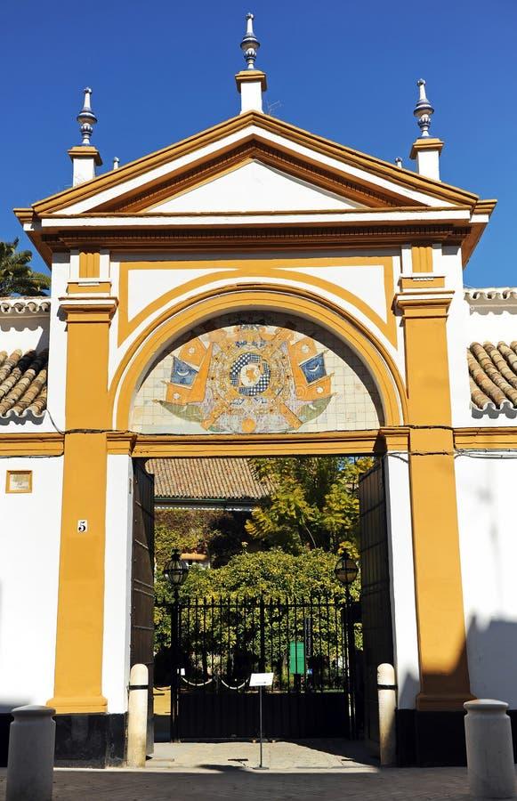 Παλάτι του Duenas στη Σεβίλη, Ισπανία στοκ φωτογραφία με δικαίωμα ελεύθερης χρήσης