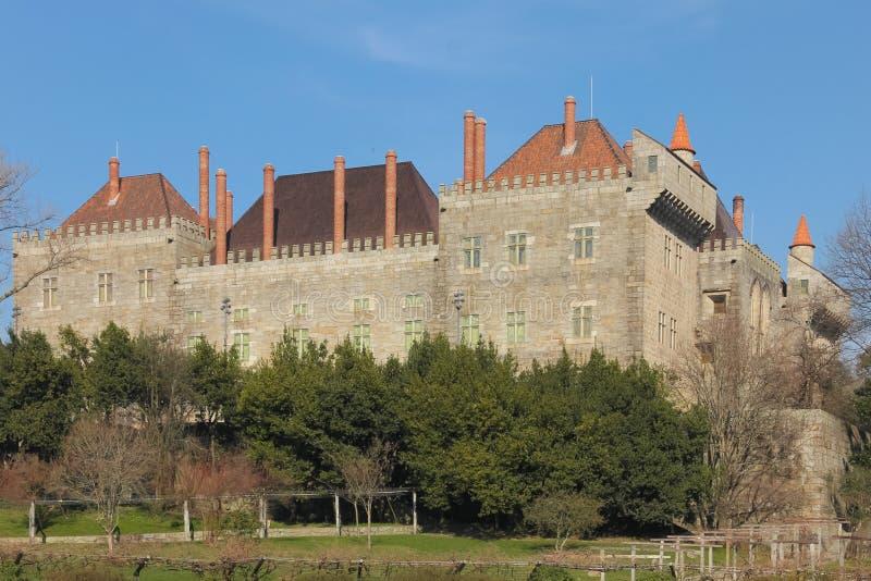 Παλάτι του Duques Braganca Gumaraes Πορτογαλία στοκ εικόνα με δικαίωμα ελεύθερης χρήσης