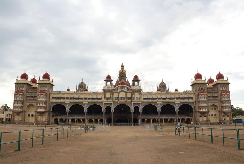 Παλάτι του Mysore στο Mysore της Ινδίας στοκ εικόνες