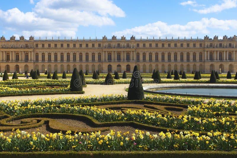 Παλάτι των Βερσαλλιών, Παρίσι, Γαλλία στοκ φωτογραφία με δικαίωμα ελεύθερης χρήσης