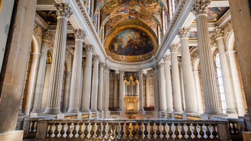 Παλάτι των Βερσαλλιών, Παρίσι στοκ φωτογραφία με δικαίωμα ελεύθερης χρήσης