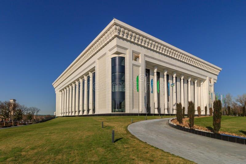 Παλάτι των φόρουμ στην ηλιόλουστη ημέρα στην Τασκένδη, Ουζμπεκιστάν στοκ φωτογραφίες με δικαίωμα ελεύθερης χρήσης