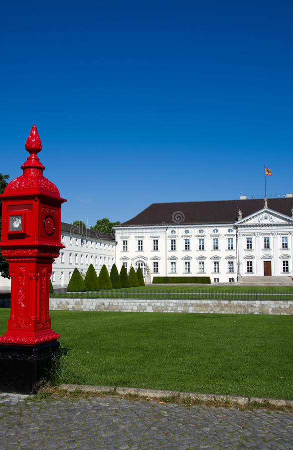 Παλάτι Bellevue, Βερολίνο, Γερμανία στοκ εικόνες
