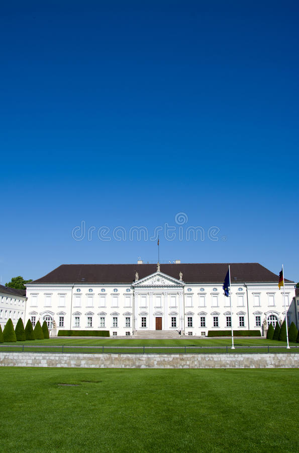 Παλάτι Bellevue, Βερολίνο, Γερμανία στοκ φωτογραφία με δικαίωμα ελεύθερης χρήσης