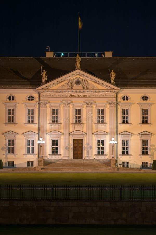 Παλάτι Bellevue, Βερολίνο στοκ εικόνες