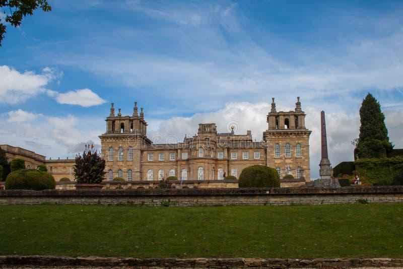 Παλάτι Blenheim, Αγγλία στοκ εικόνα με δικαίωμα ελεύθερης χρήσης
