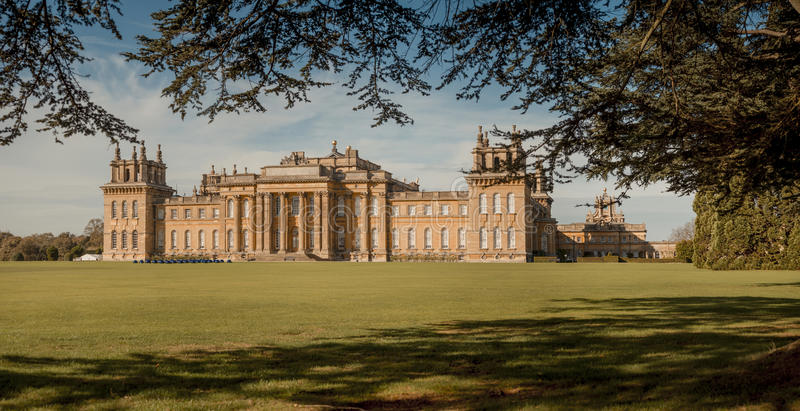 Παλάτι Blenheim στοκ φωτογραφία