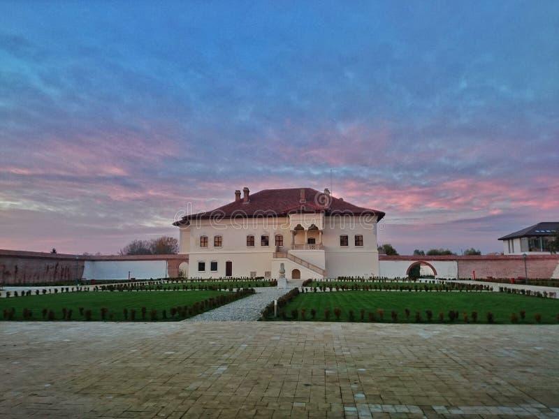 Παλάτι Brancovenesc Potlogi στοκ φωτογραφία