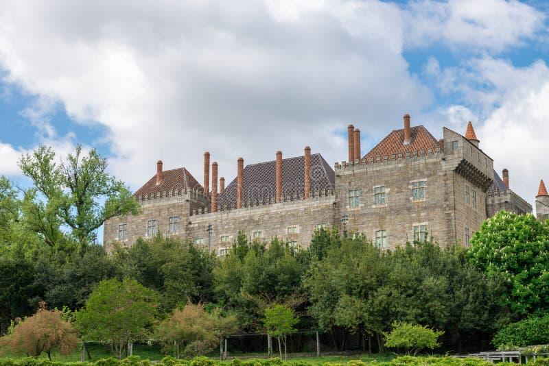 Παλάτι Duque de Braganca, Gumaraes στοκ φωτογραφίες με δικαίωμα ελεύθερης χρήσης