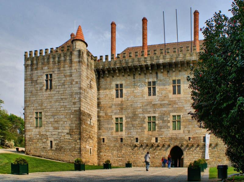 Παλάτι Duques de Braganca στοκ εικόνα