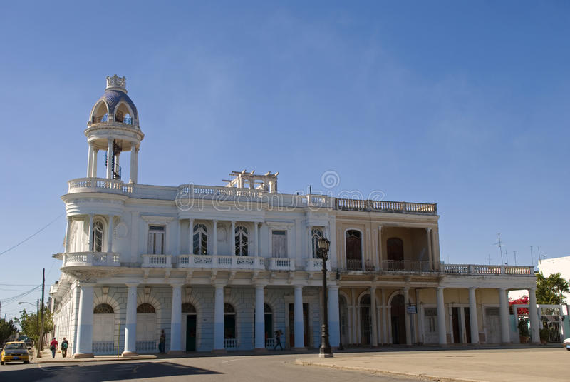 Παλάτι Ferrer, Cienfuegos, Κούβα στοκ φωτογραφίες