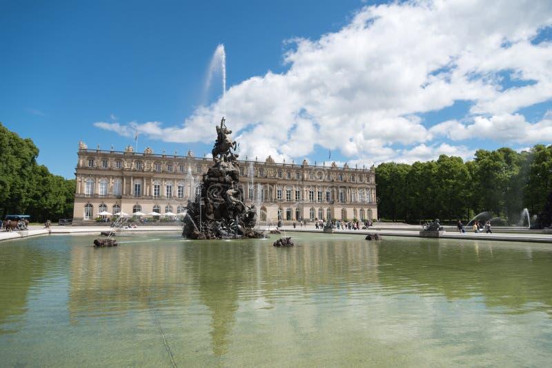 Παλάτι Herrenchiemsee στοκ εικόνες