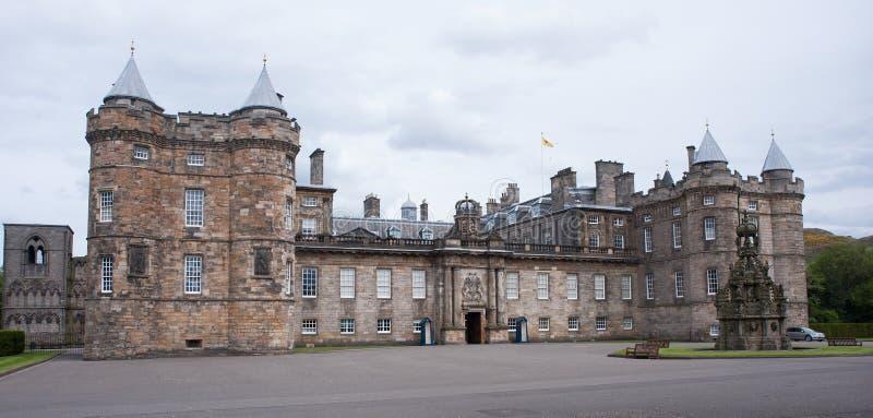 Παλάτι Holyrood στοκ εικόνα με δικαίωμα ελεύθερης χρήσης