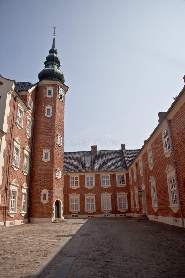 Παλάτι Jaegerspris, Frederikssund, Δανία στοκ εικόνες