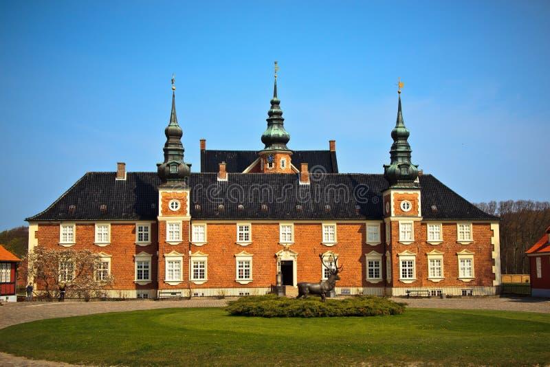Παλάτι Jaegerspris, Frederikssund, Δανία στοκ εικόνα