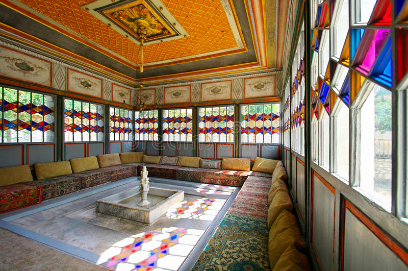 Παλάτι Khan σε Bakhchisaray στοκ εικόνες