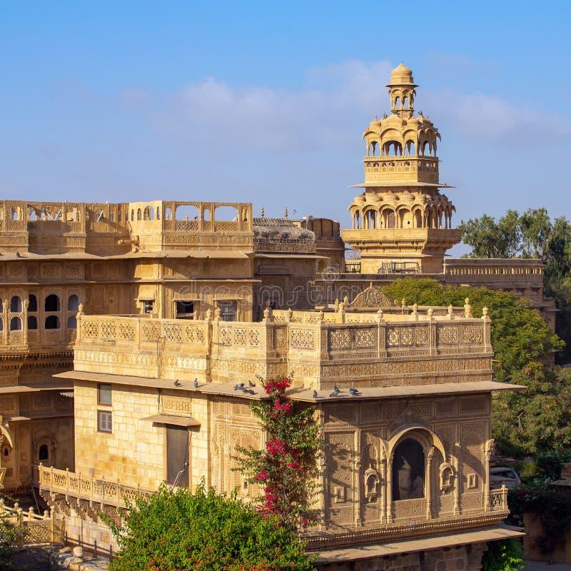 Παλάτι Mandir σε Jaisalmer στοκ φωτογραφία με δικαίωμα ελεύθερης χρήσης