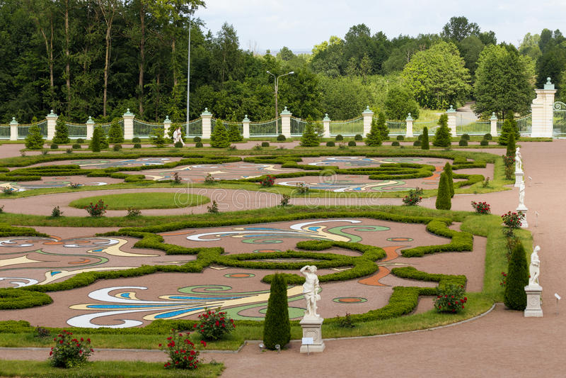 Παλάτι Menshikov στοκ φωτογραφία με δικαίωμα ελεύθερης χρήσης