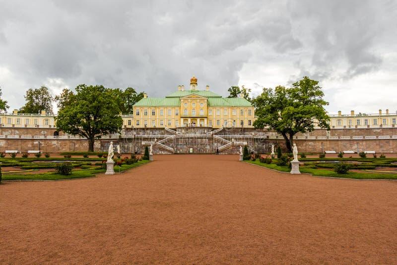 Παλάτι Menshikov (Oranienbaum) στην πόλη Lomonosov στοκ εικόνες με δικαίωμα ελεύθερης χρήσης