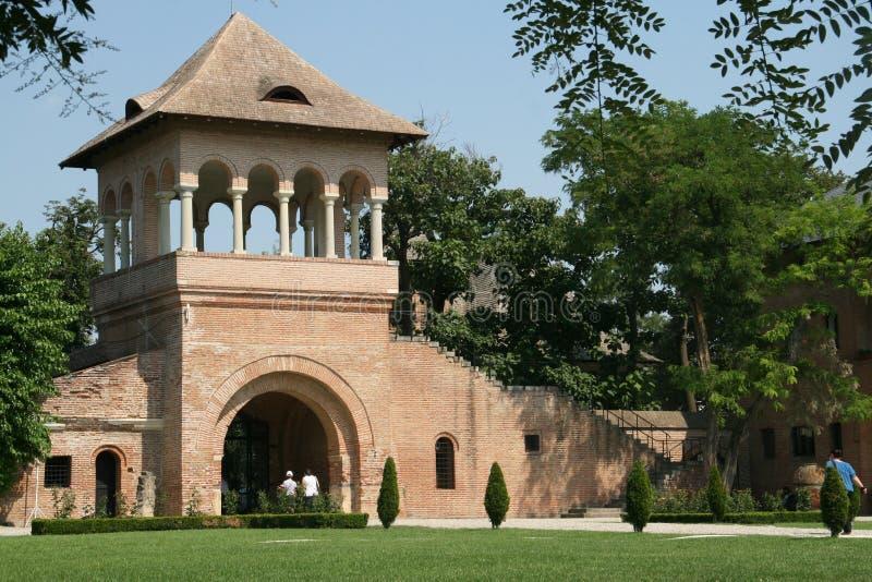 Παλάτι Mogosoaia στοκ εικόνες